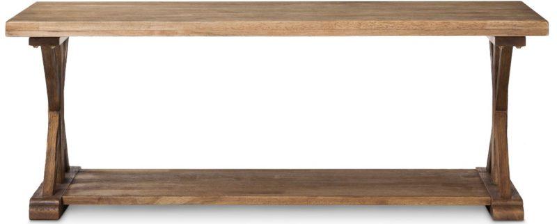X-base coffee table