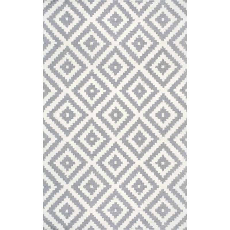 Affordable wool area rug