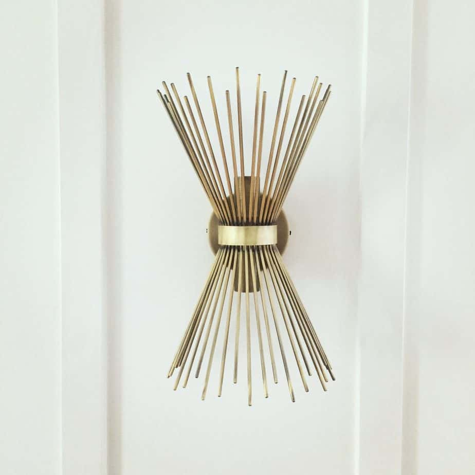 Hardwired-Sunburst-Wall-Sconce