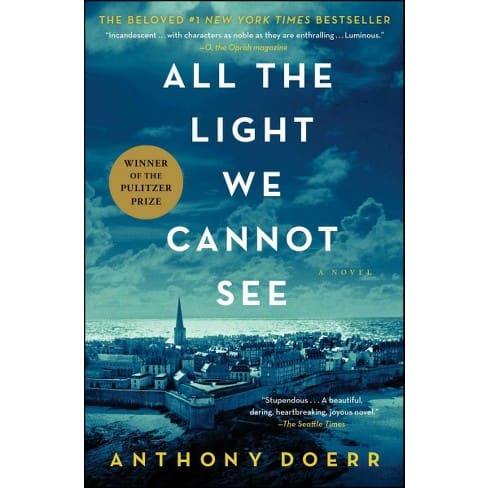 A beautiful book about World War II, All The Light We Cannot See by Anthony Doerr.