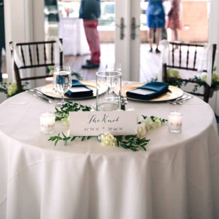 How To Make A Seating Chart & Table Names For A Special Occasion