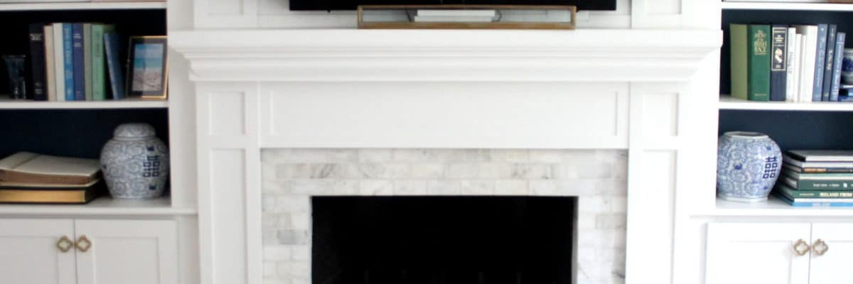Fireplace Makeover, Start To Finish