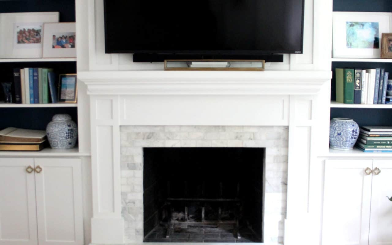 Fireplace Makeover Start To Finish Shine Your Light