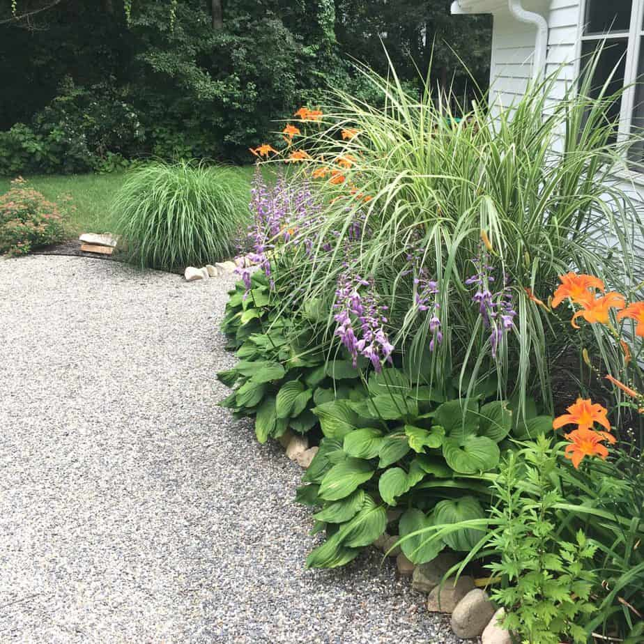 How to install a pea stone patio.