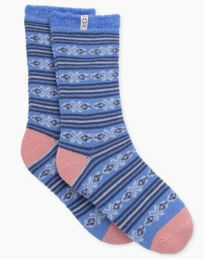Ugg fleece lined fair isle socks are so amazingly warm and cozy for winter.