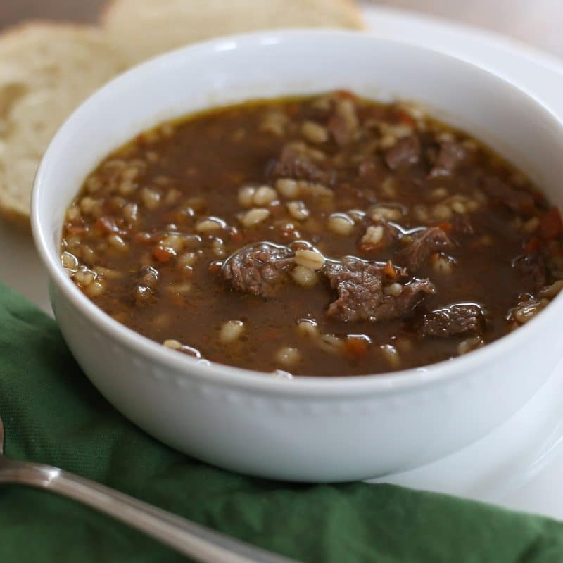 Hearty Beef & Barley Soup + 4 More Delicious Soups To Make This Winter