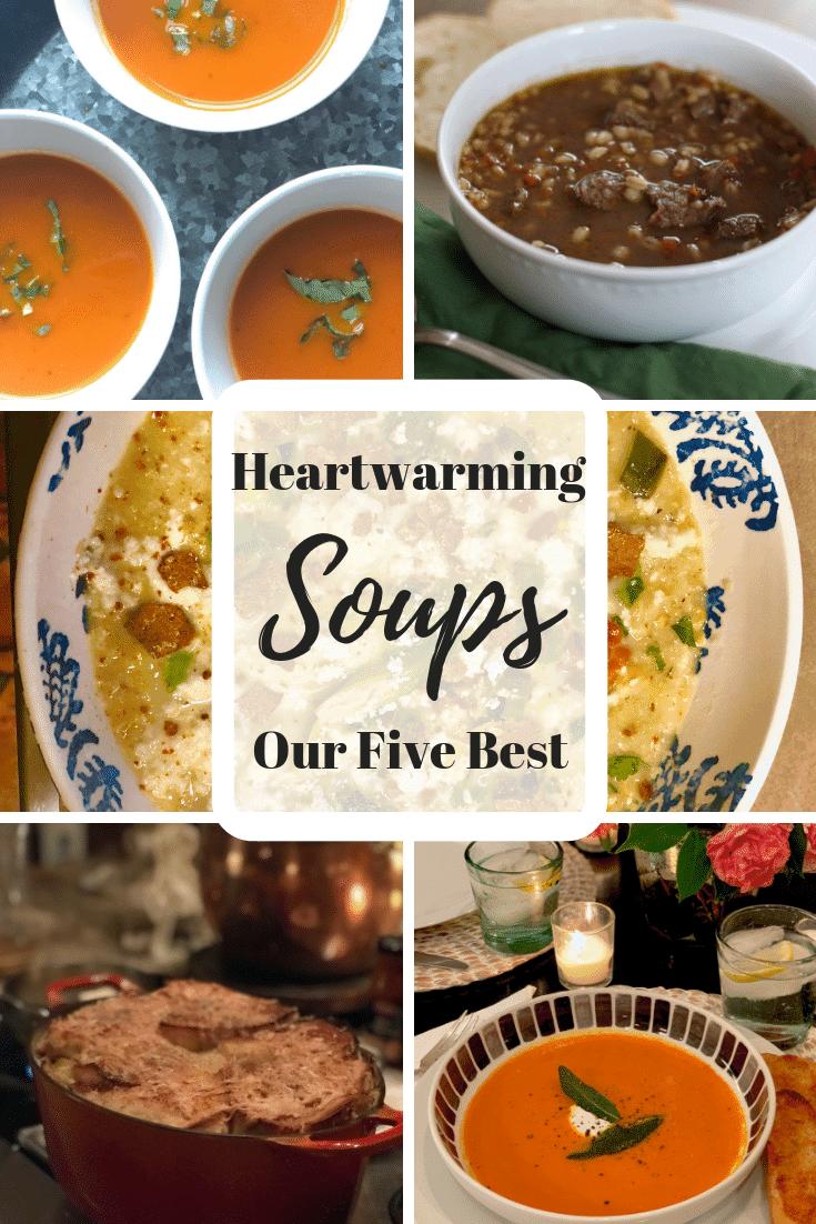 Five Heartwarming Soups