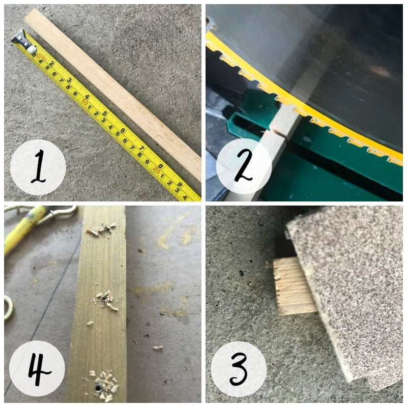 How to make a wall mounted necklace hanger