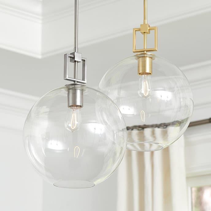 Fiona Glass Pendant Light