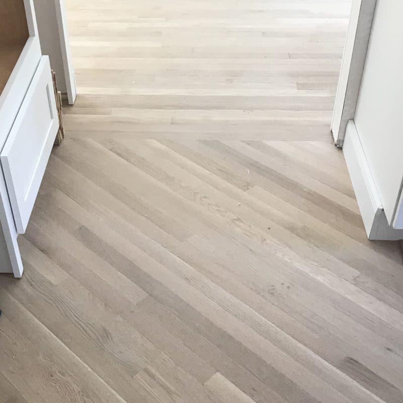Kitchen Progress | Weeks Five & Six | Floor & Cabinet Installation
