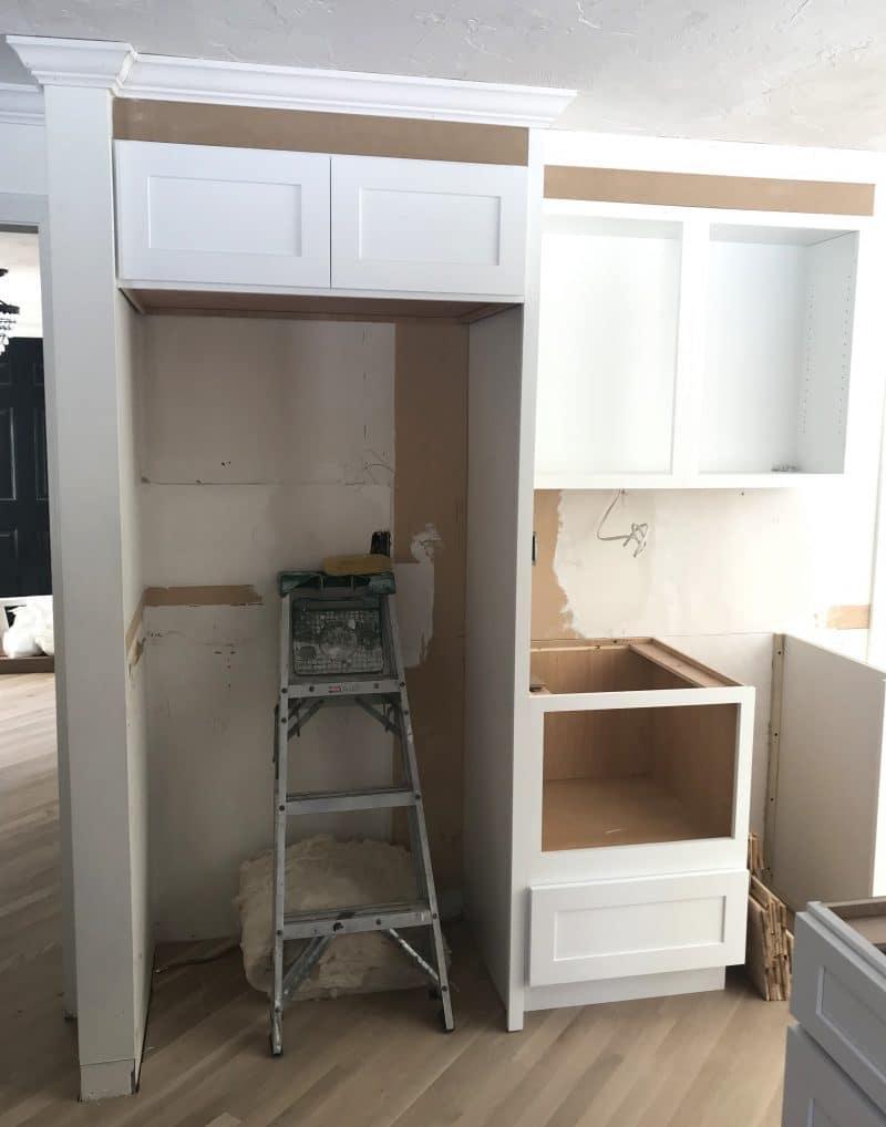 Kitchen Progress   Weeks Five & Six   Floor & Cabinet ...
