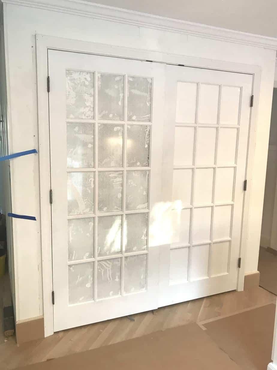 Kitchen Progress   Week Seven   Pantry Doors