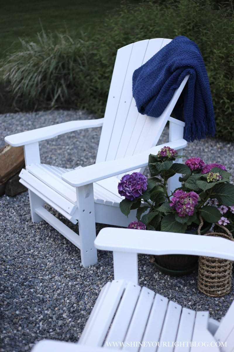 Low maintenance composite Adirondack chairs