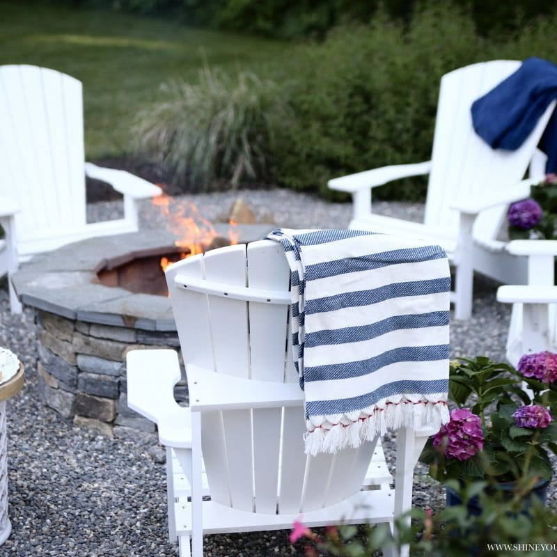 Our Low Maintenance Patio & Deck Makeover