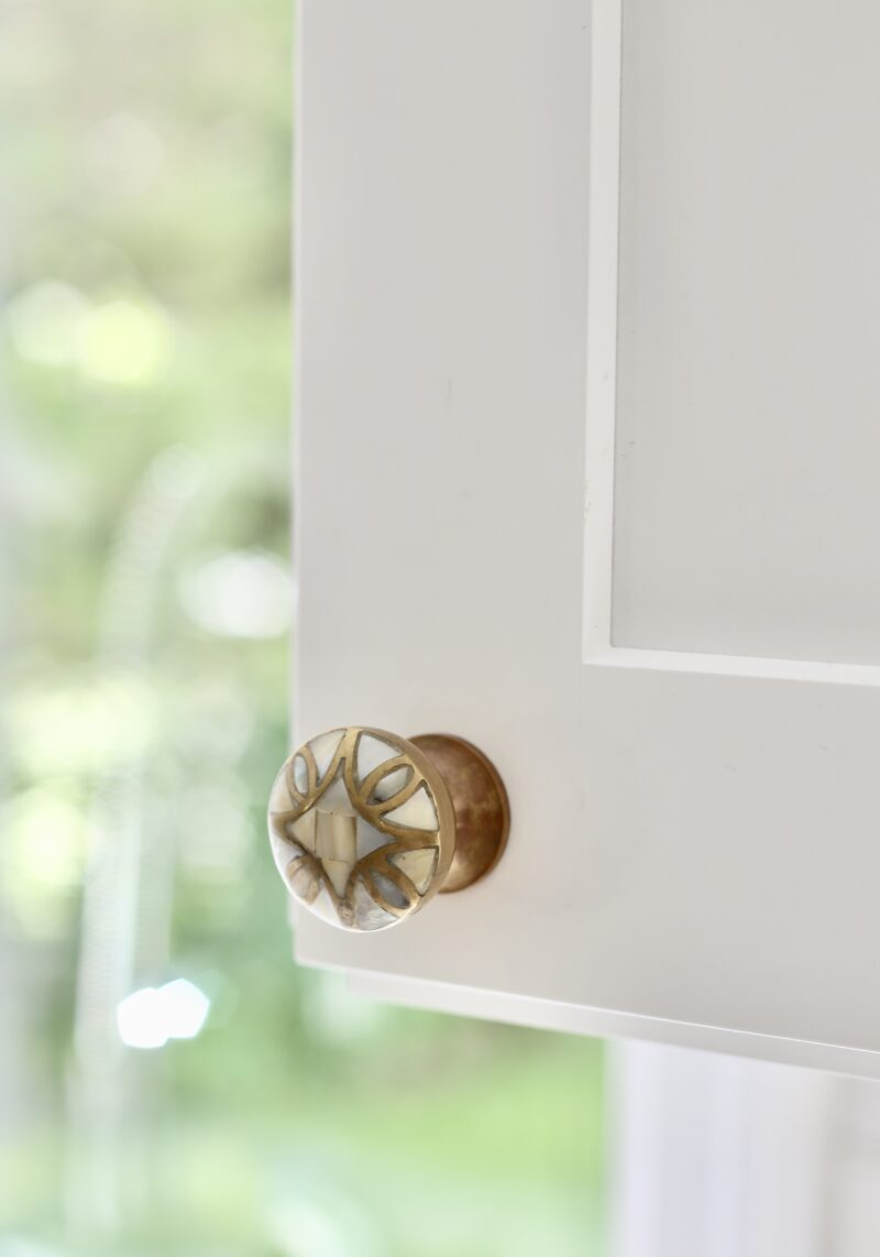 Anthropologie Mother of Pearl Cabinet Knobs