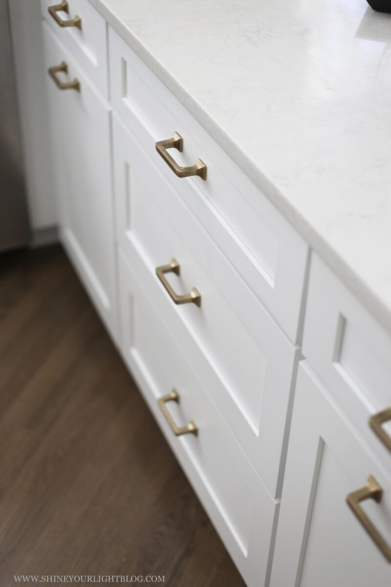 Mission Style Brass Cabinet Pulls