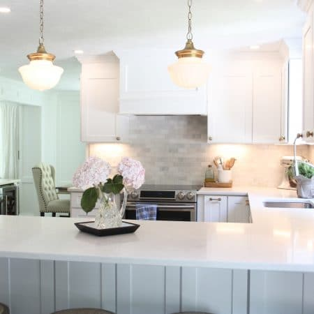 Light and bright kitchen reveal