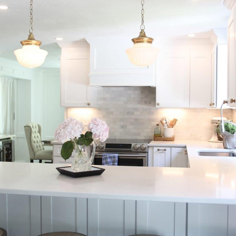 Our Light and Bright Kitchen Remodel!