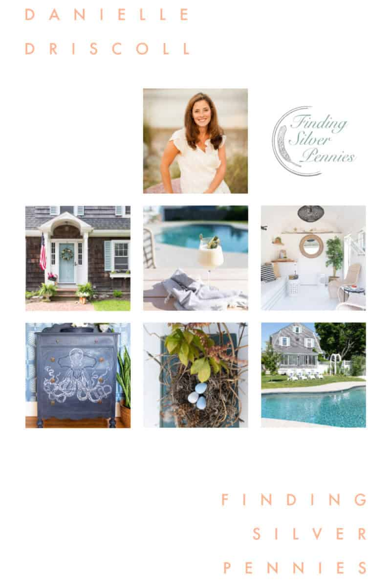 Coastal Blogger Danielle Driscoll of Finding Silver Pennies