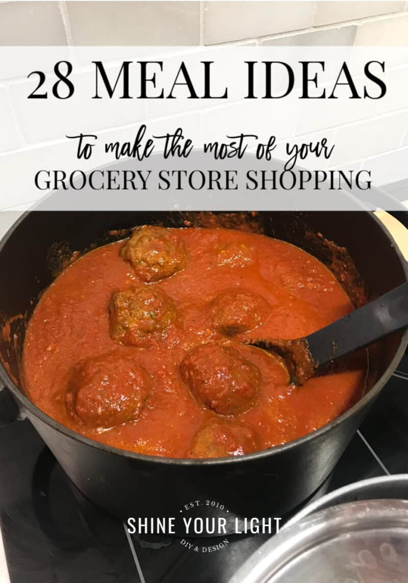 28 Meal Ideas