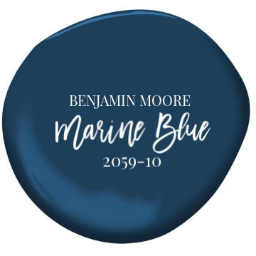 Benjamin Moore Marine Blue