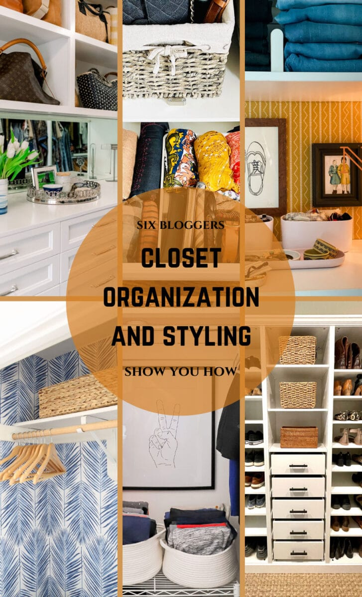 Closet organization and styling