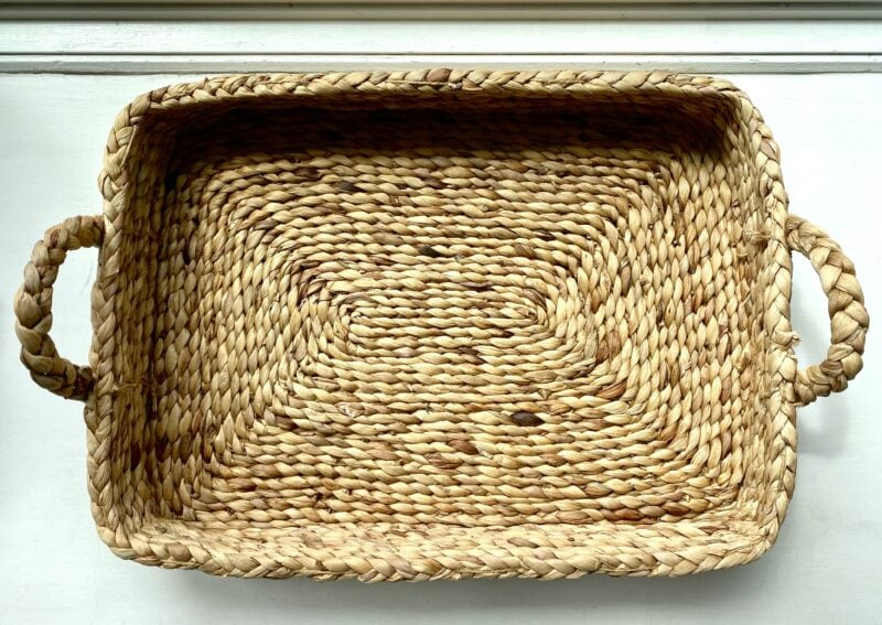 Soaked and Reshaped Basket