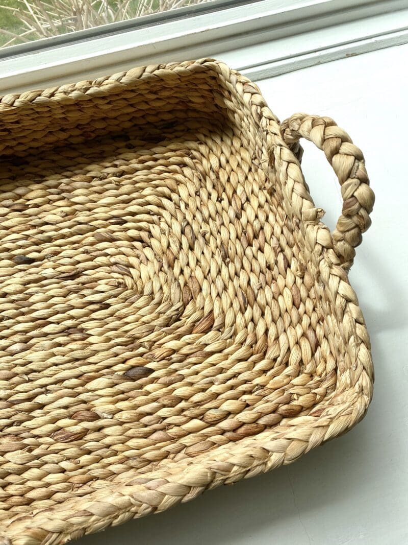 Reshaped Water Hyacinth Tray