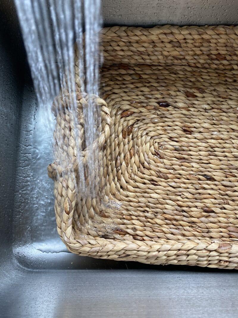 Soaking Warped Basket