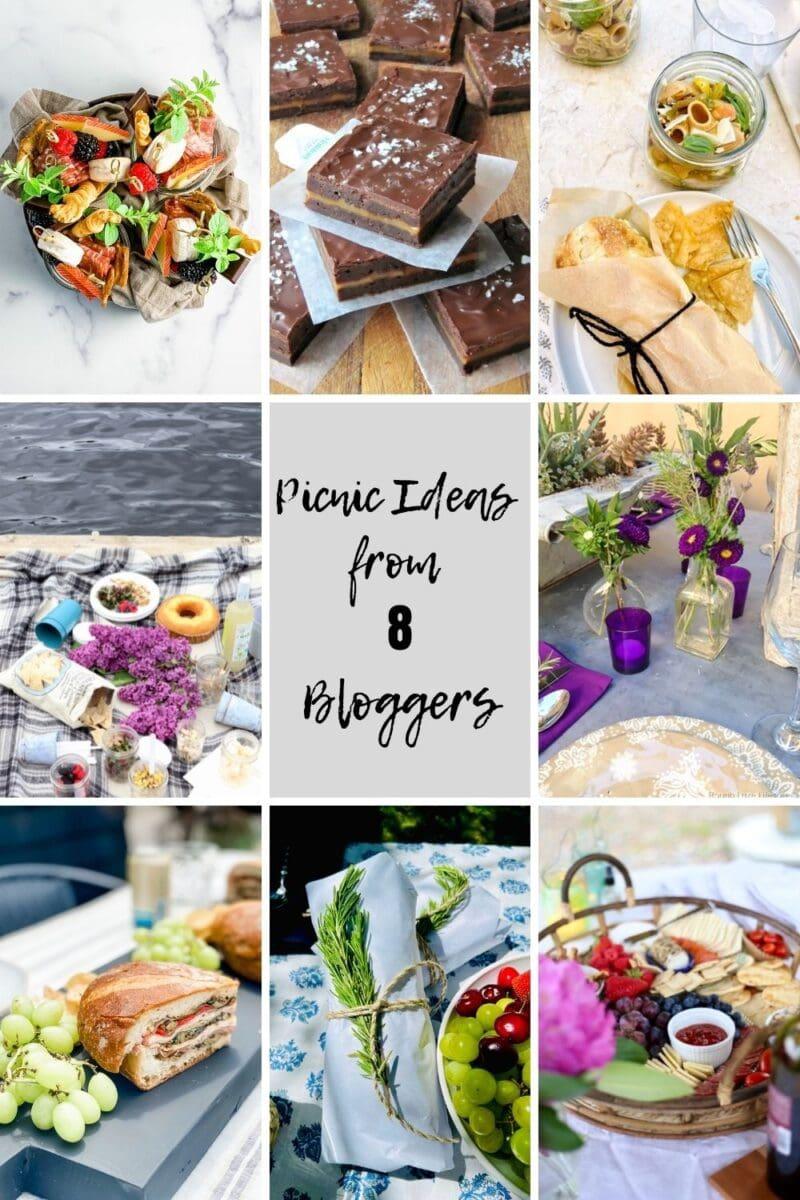 8 Bloggers Best picnic ideas